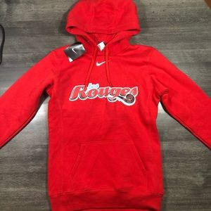 2/$50 NWT Nike Red Hoodie Les Rouges Small French